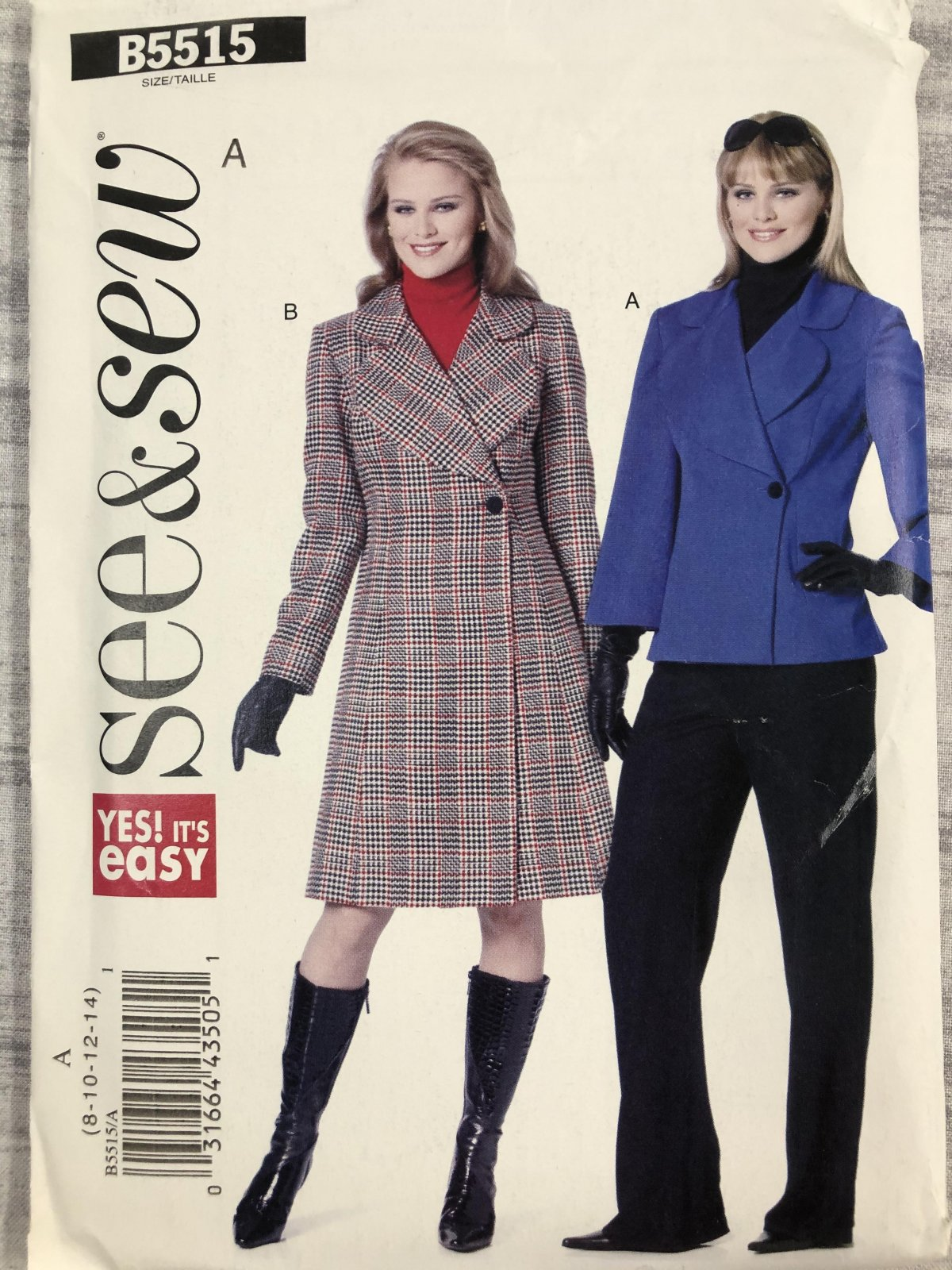 See & Sew B5515 Sizes 8-14