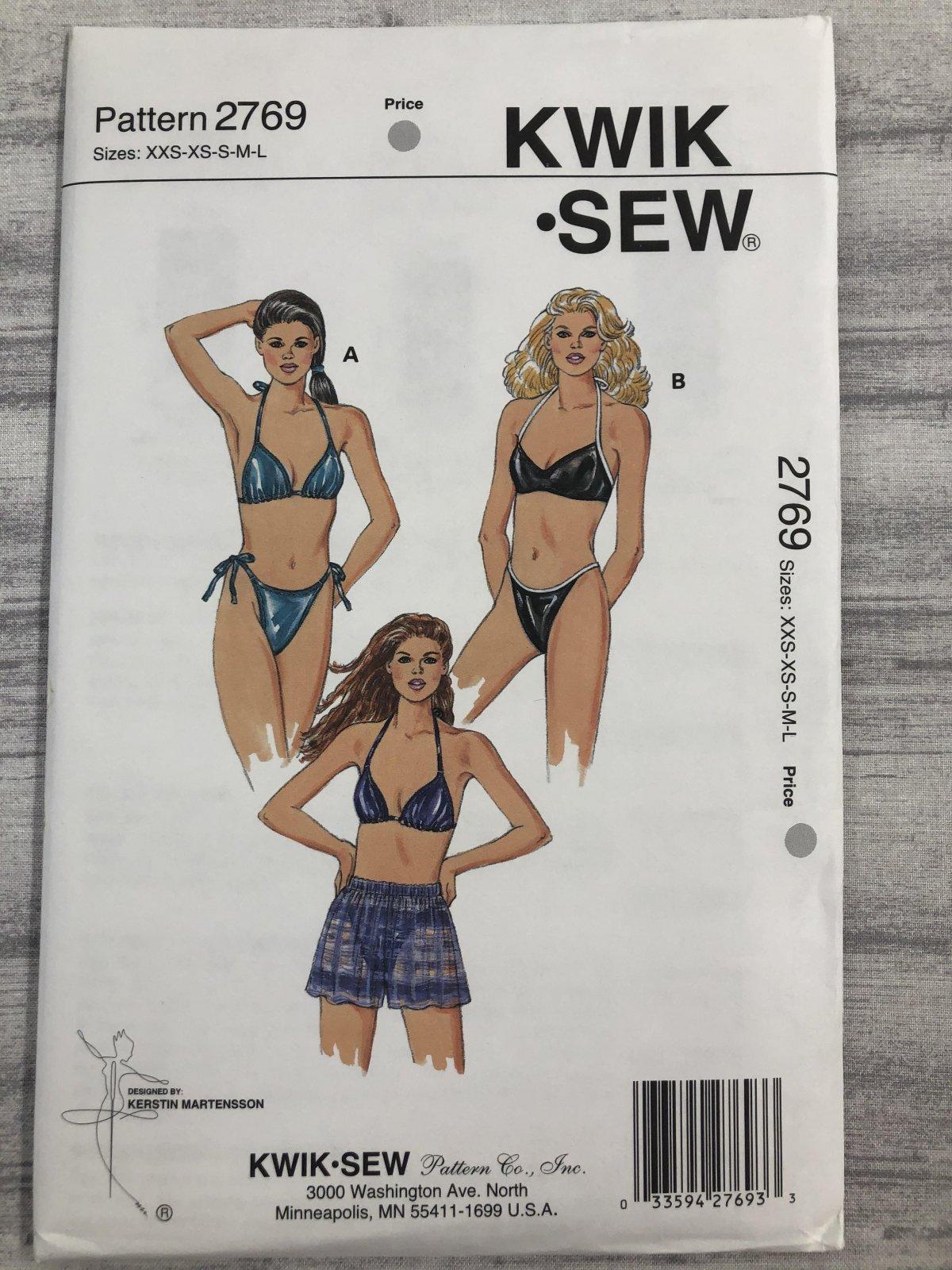 Kwik Sew 2769 Sizes XXS-L