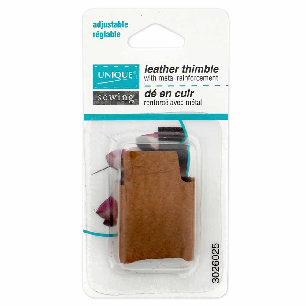 UNIQUE SEWING Quilters' Leather Thimble