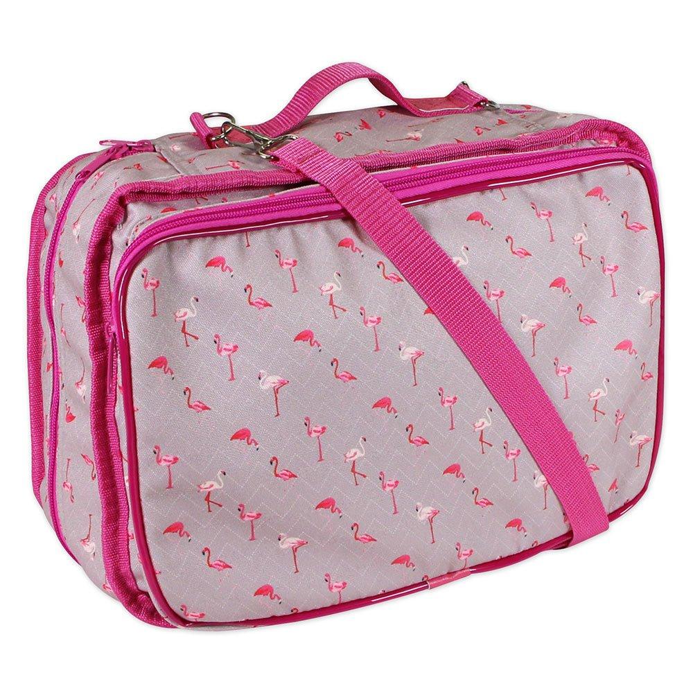VIVACE Craft/Accessories Tote - Flamingo - 33 x 25 x 13cm (13? x 10? x 5?)