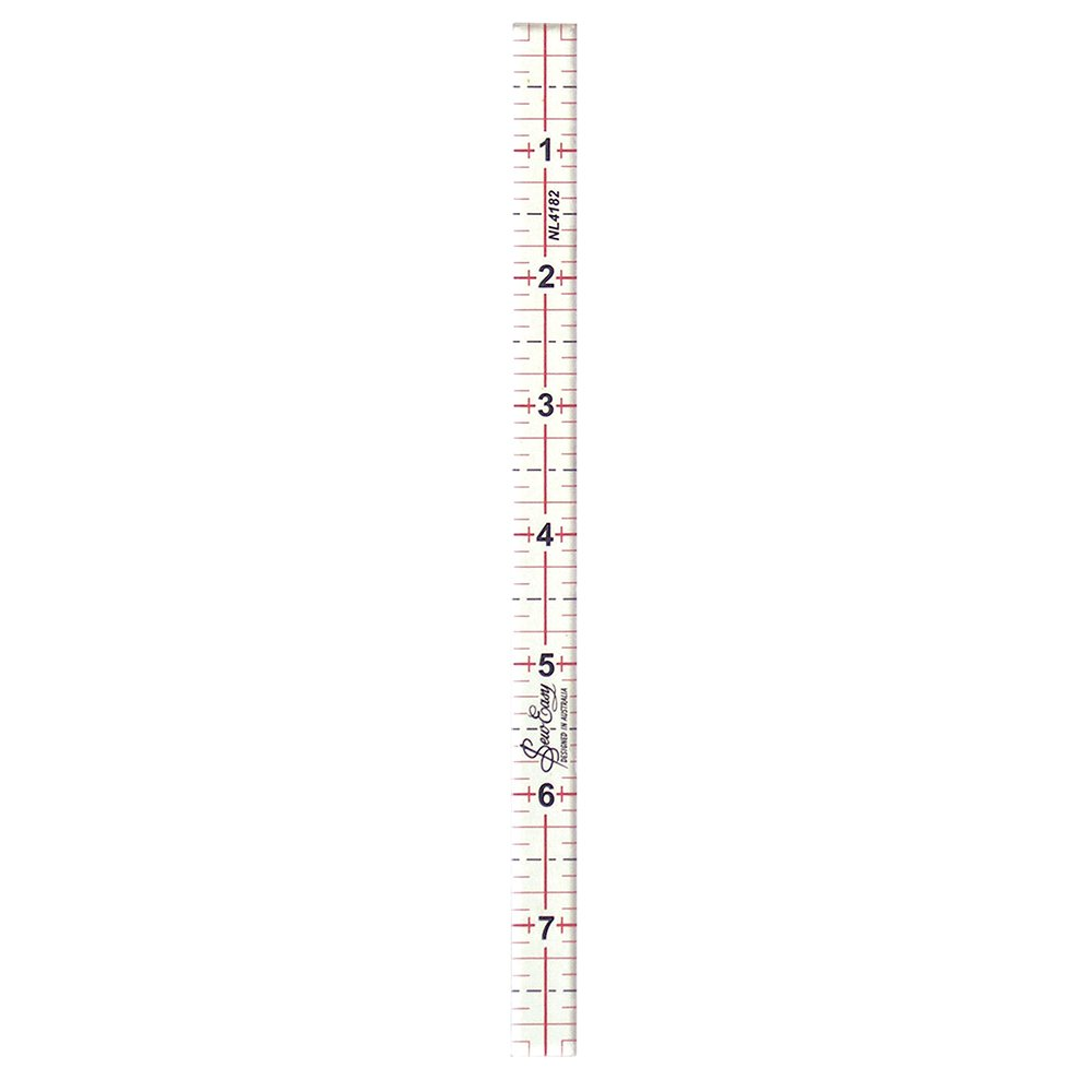 SEW EASY Quilting Ruler - 8in x .5in (20.3 x 1.3cm)