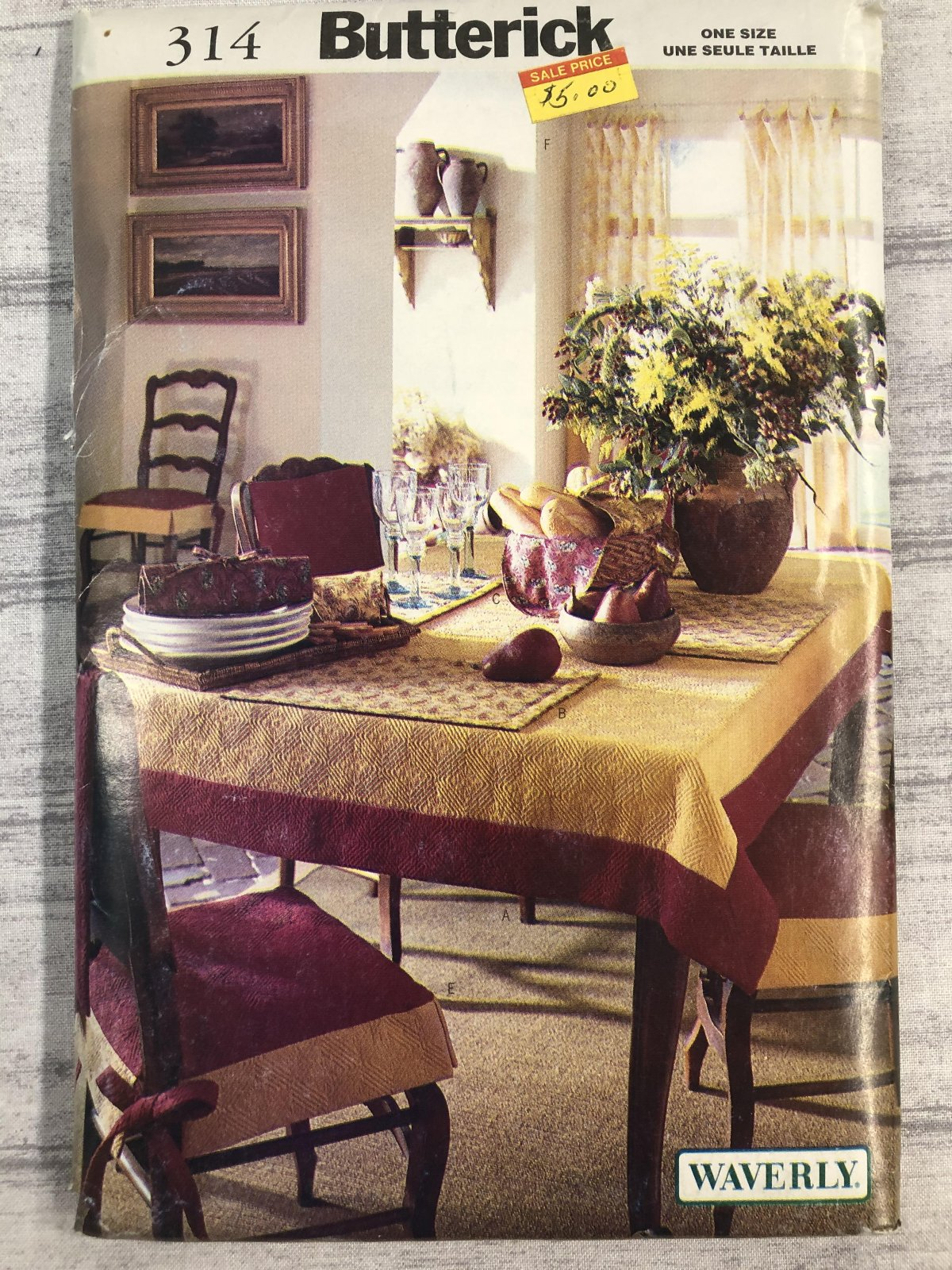 Butterick Waverly Dining Room 0314