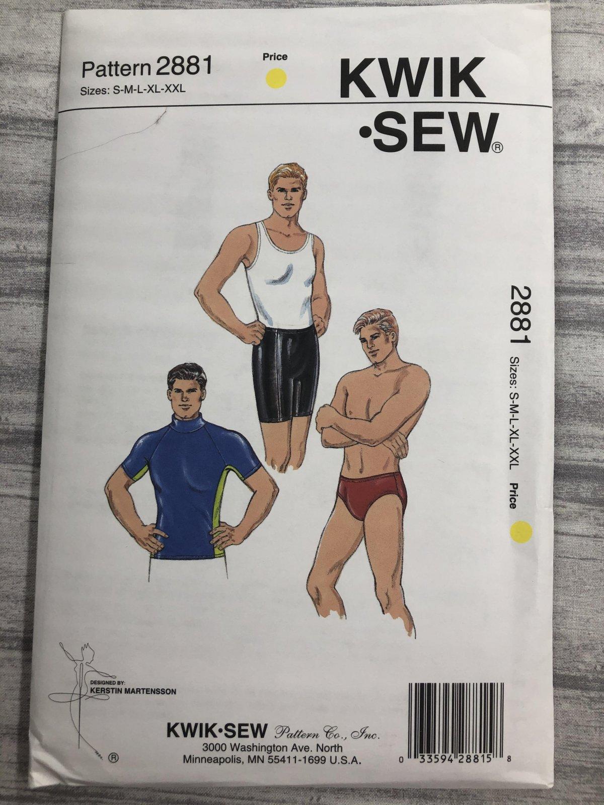 Kwik Sew 2881 Sizes S-XXL