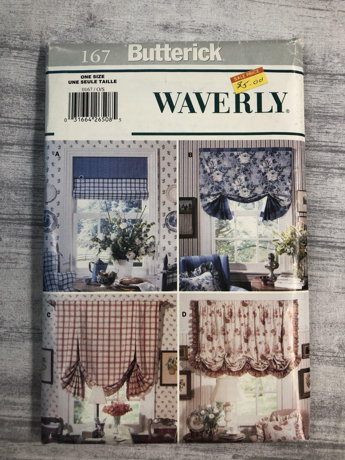 Butterick Waverly 0167