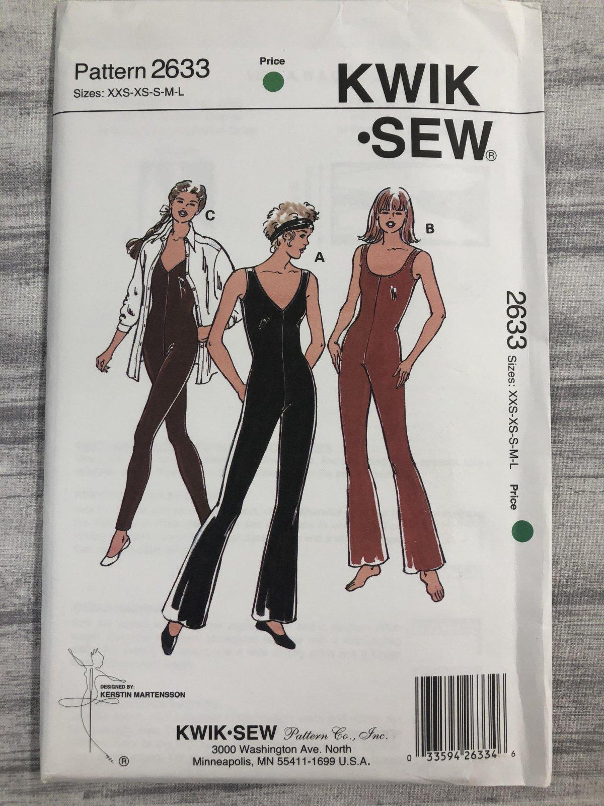 Kwik Sew 2633 Sizes XXS-L