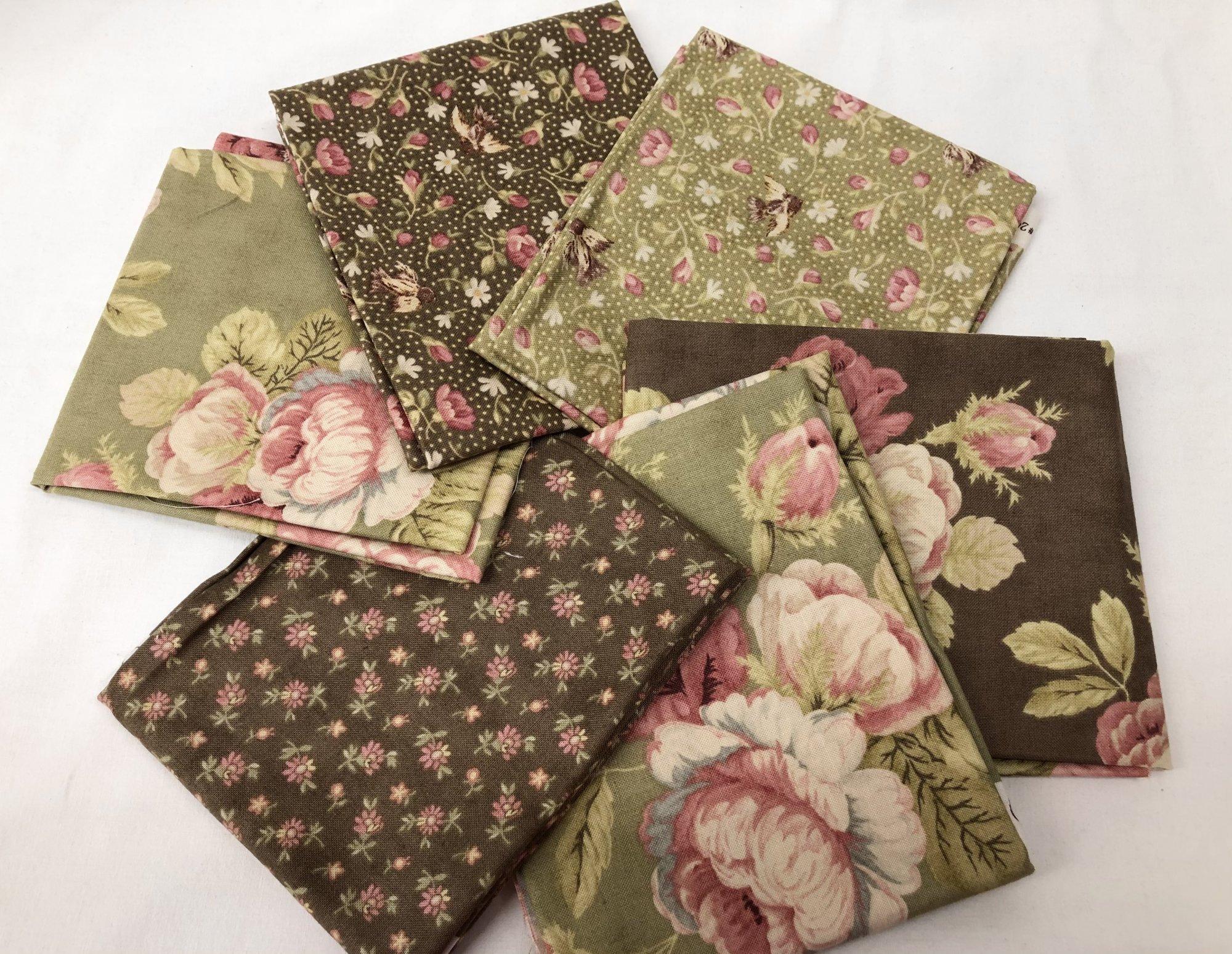 Fat Quarter Pack - 6pcs/bundle - In store - Moda Garden Party by Black Bird Designs