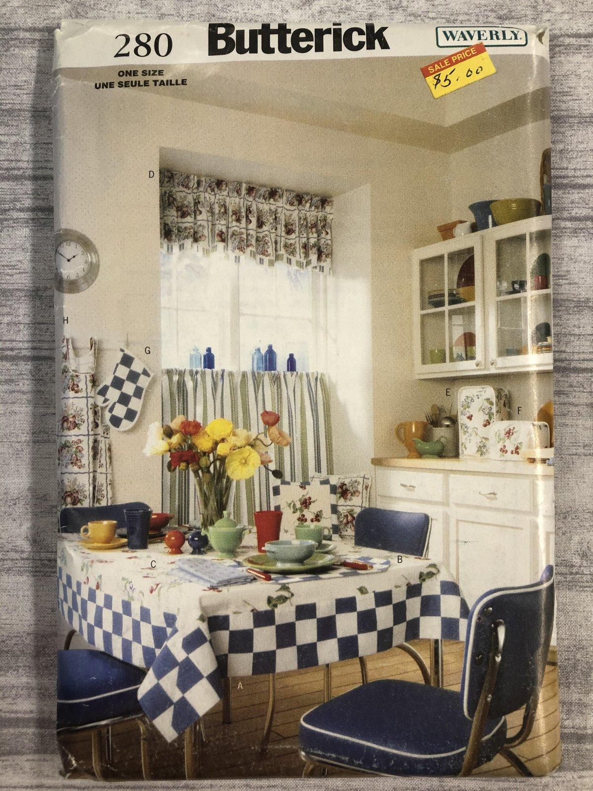 Butterick Waverly Kitchen 0280