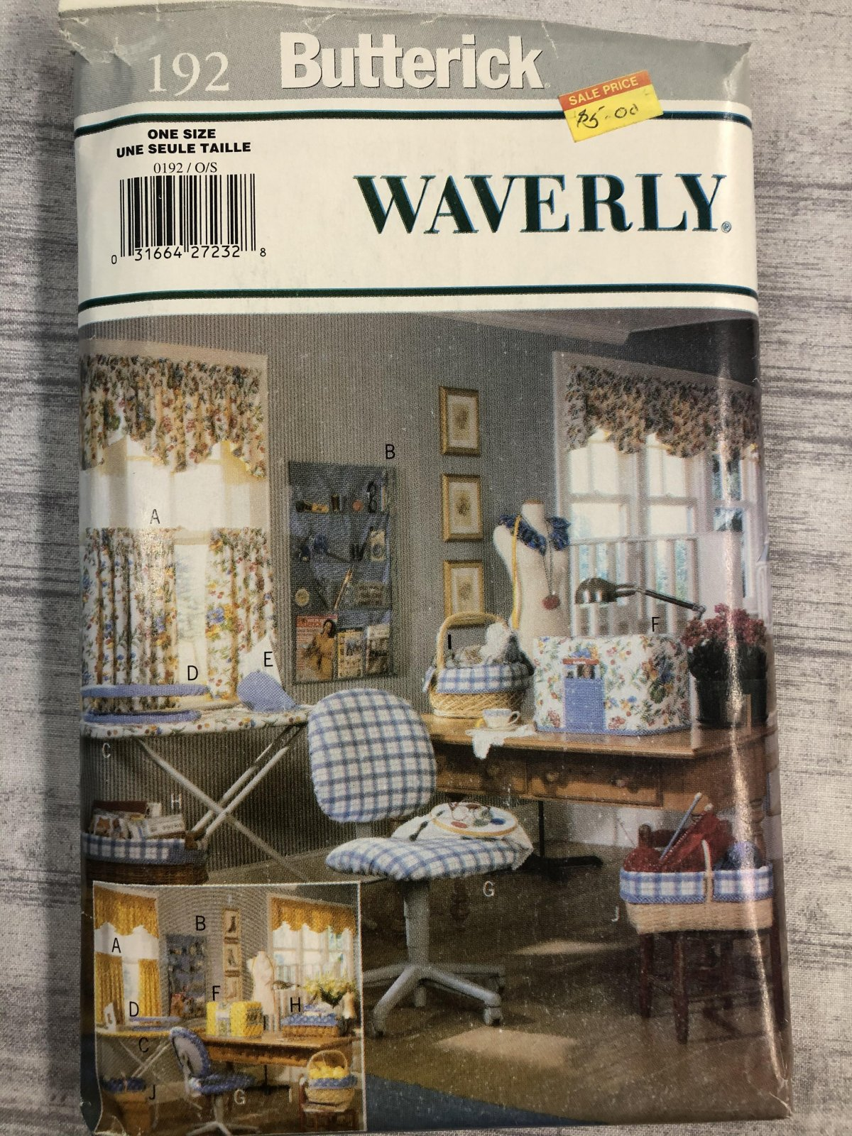 Butterick Waverly Sewing Room 0192