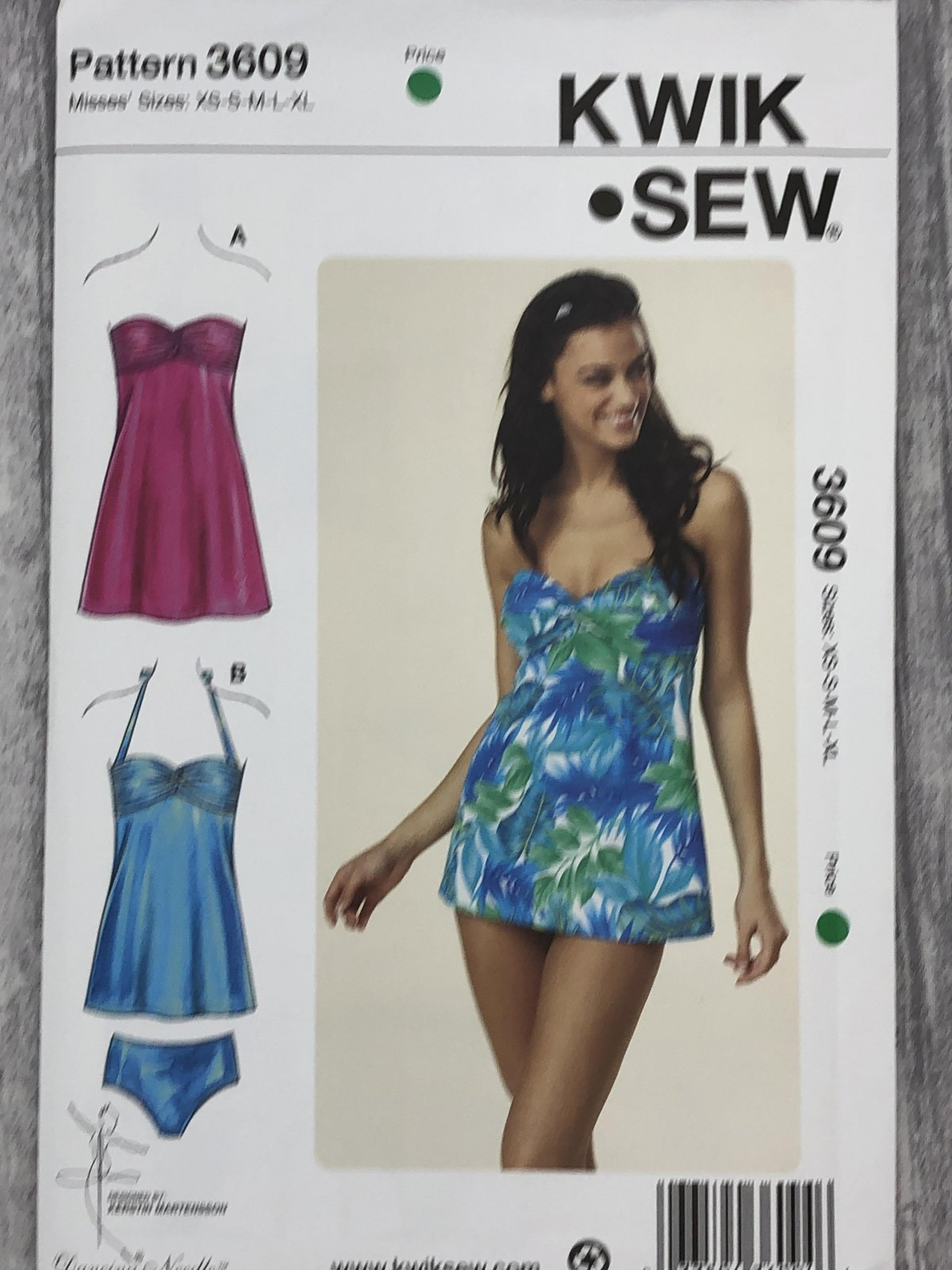 Kwik Sew 3609 Sizes XS-XL