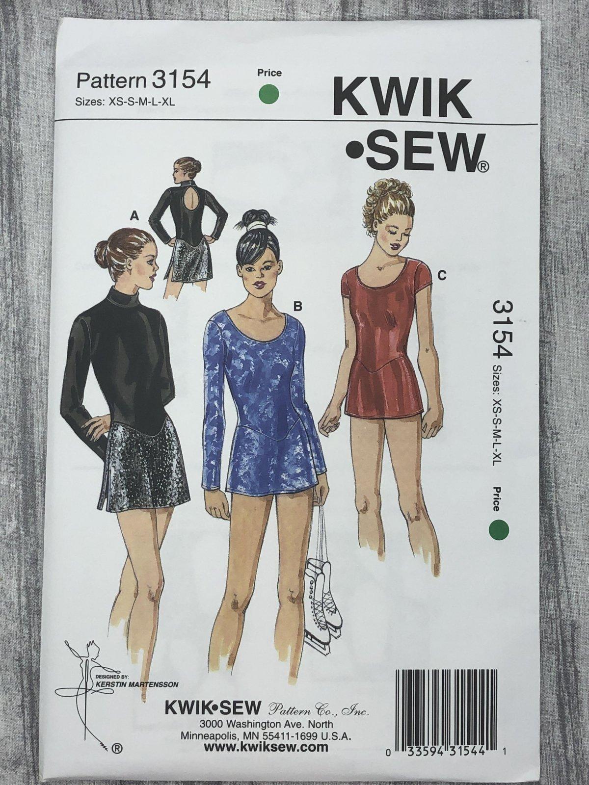 Kwik Sew 3154 Sizes XS-XL