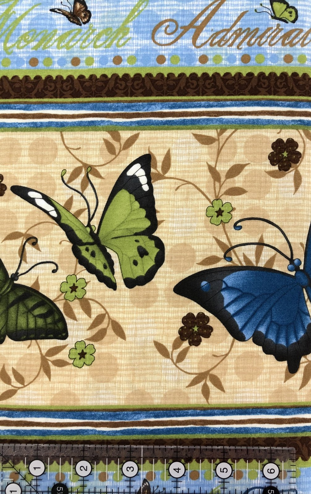 Wilmington Prints Butterfly Bliss Border Fabric