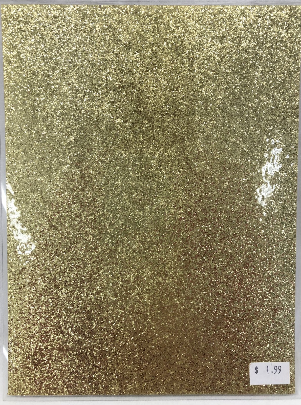Stained Glass Acrylic Sheeting - Gold Sparkle / Silver Sparkle