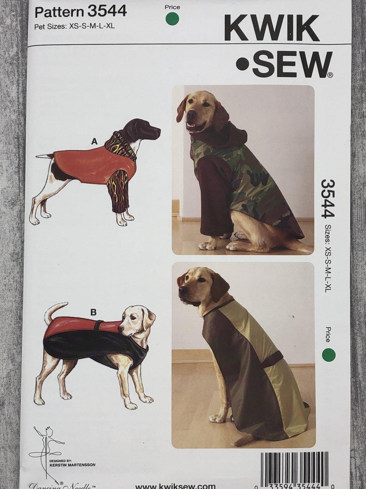 Kwik Sew 3544 Sizes XS-XL