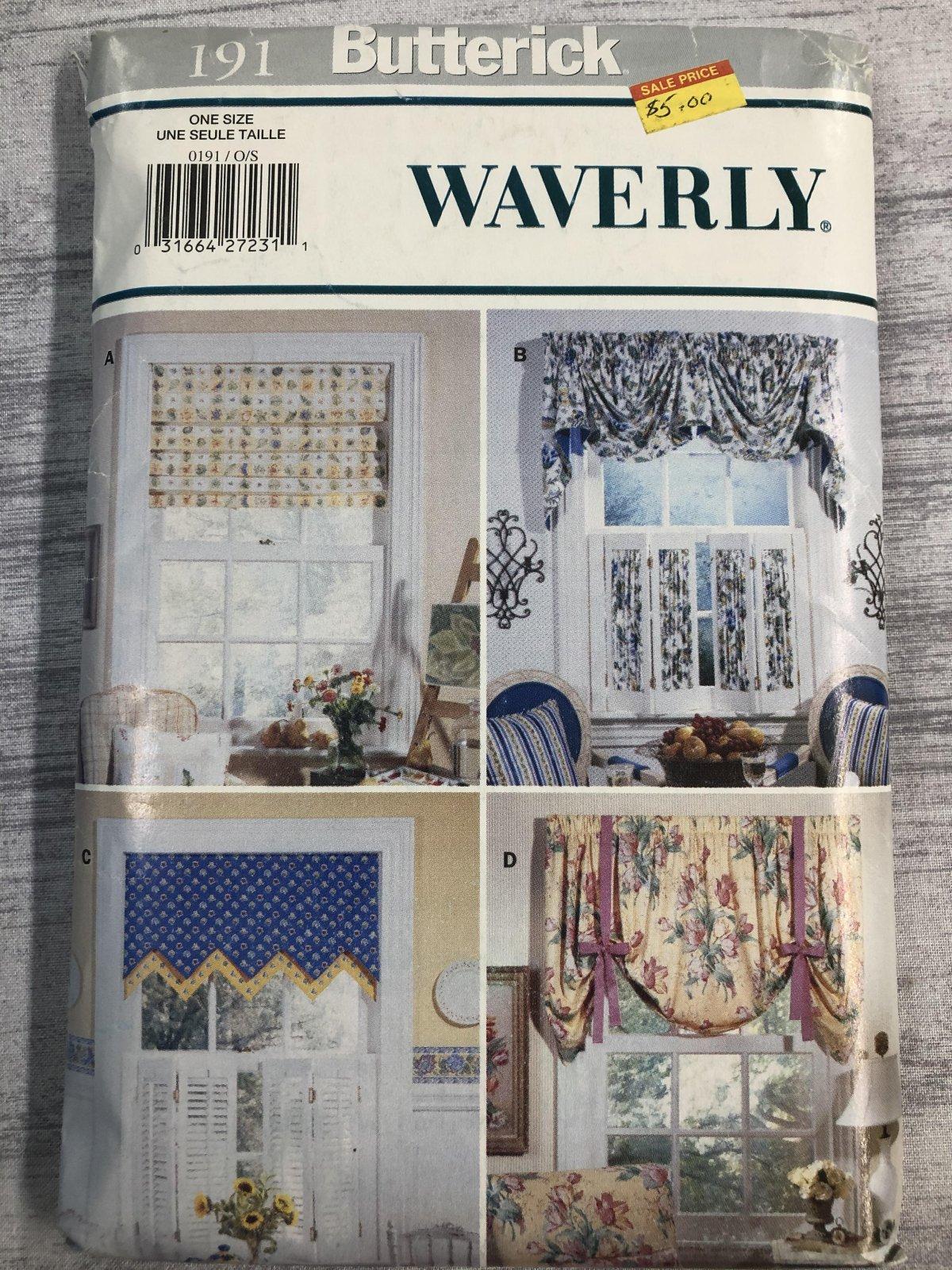 Butterick Waverly 0191