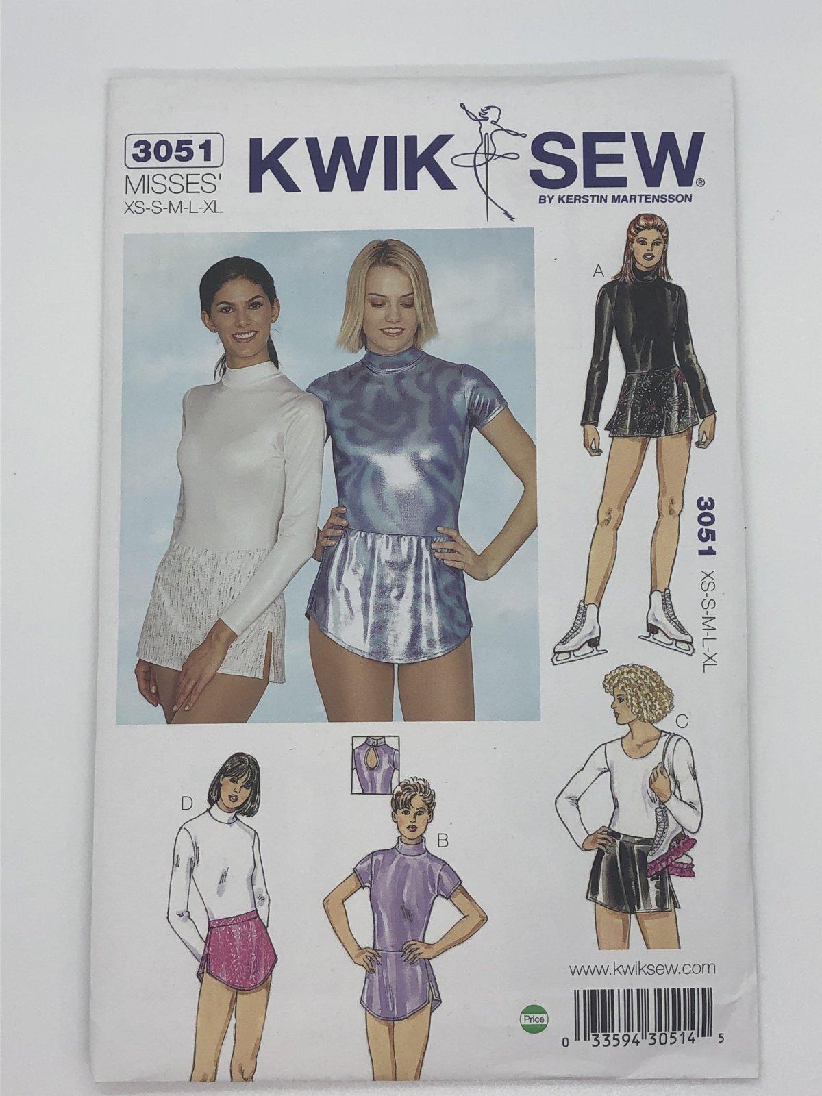 Kwik Sew 3051 Sizes XS-XL