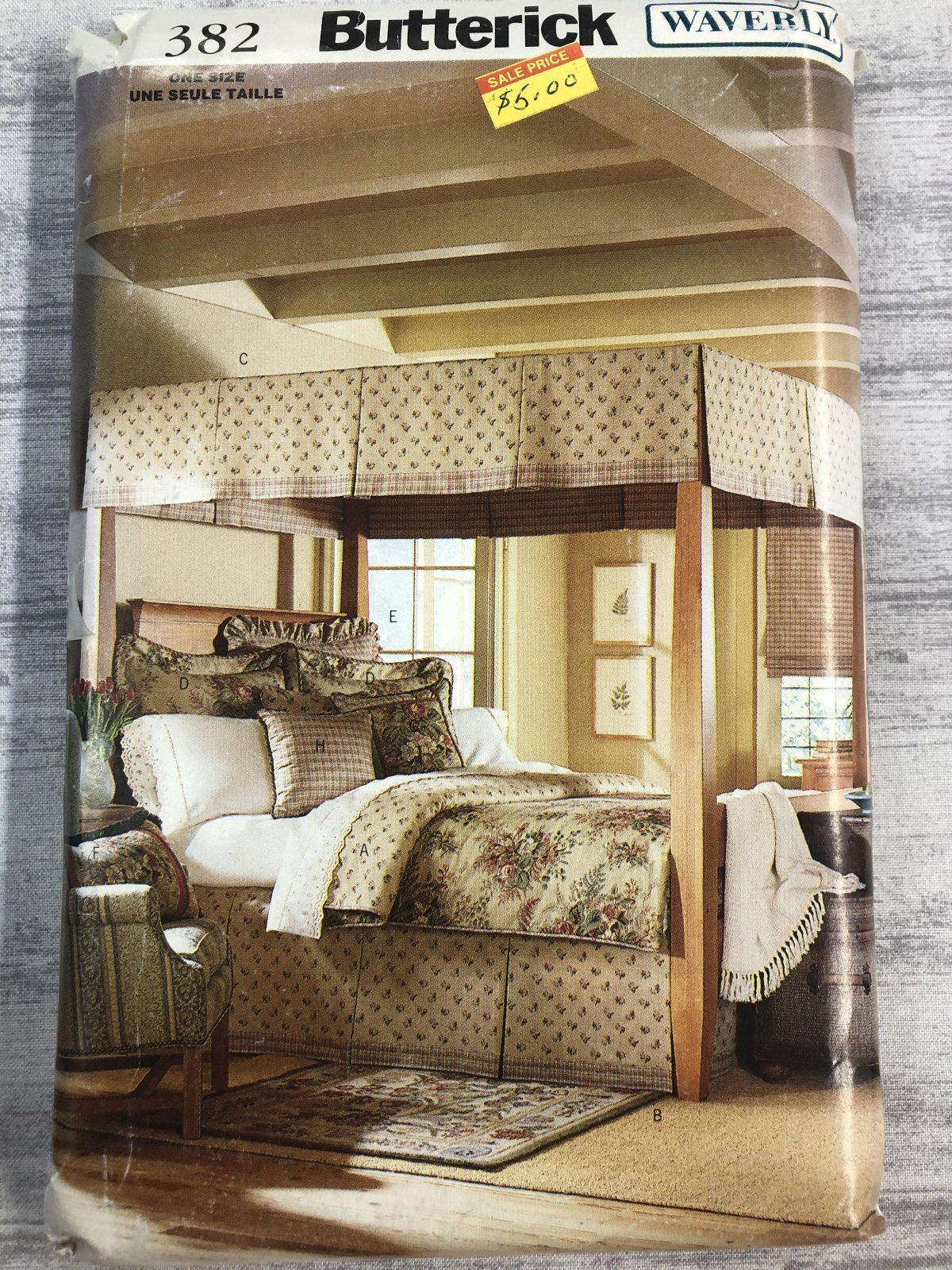 Butterick Waverly Canopy Bedroom 0382