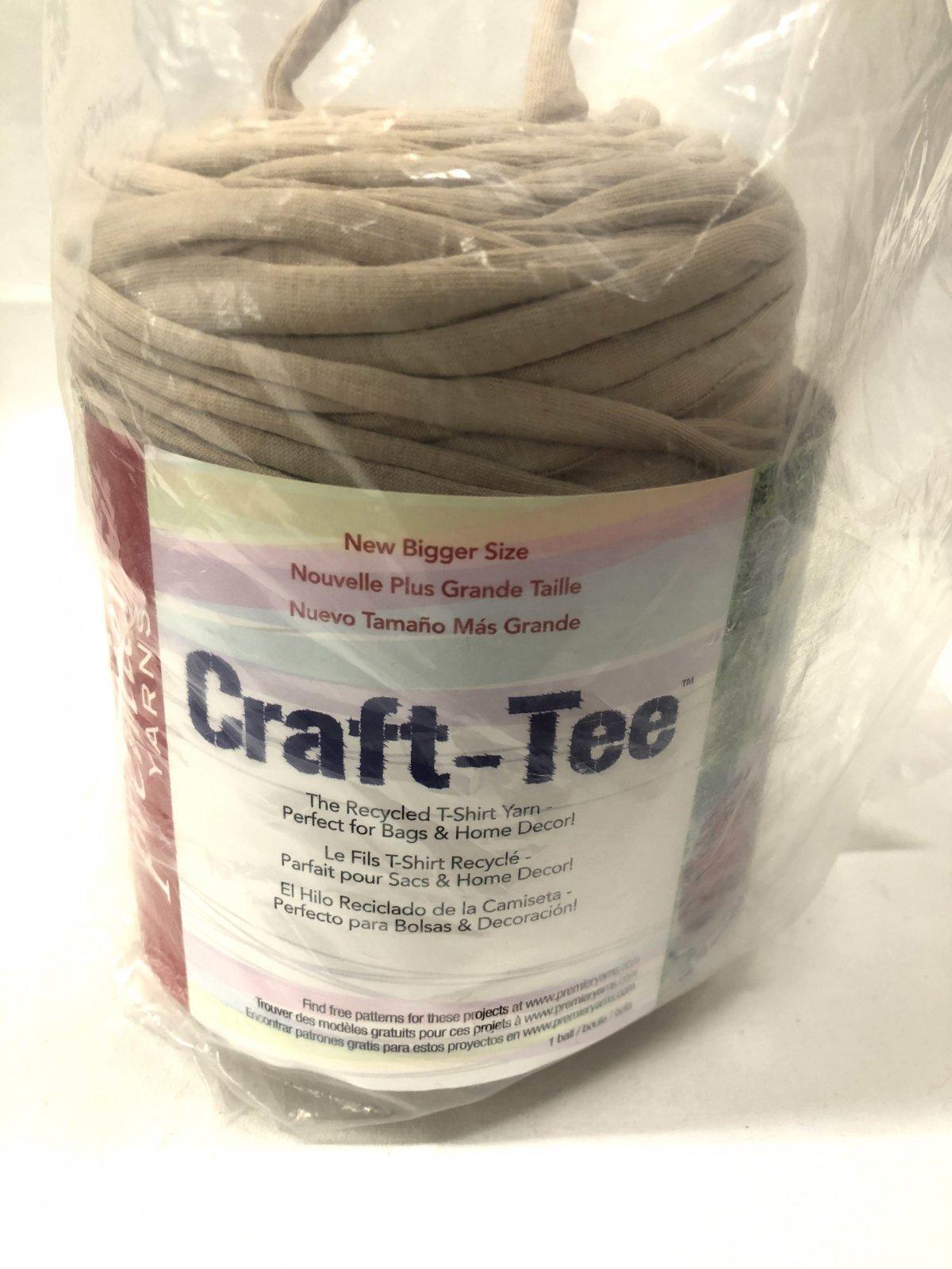 Premier Craft-Tee- Beige Shades