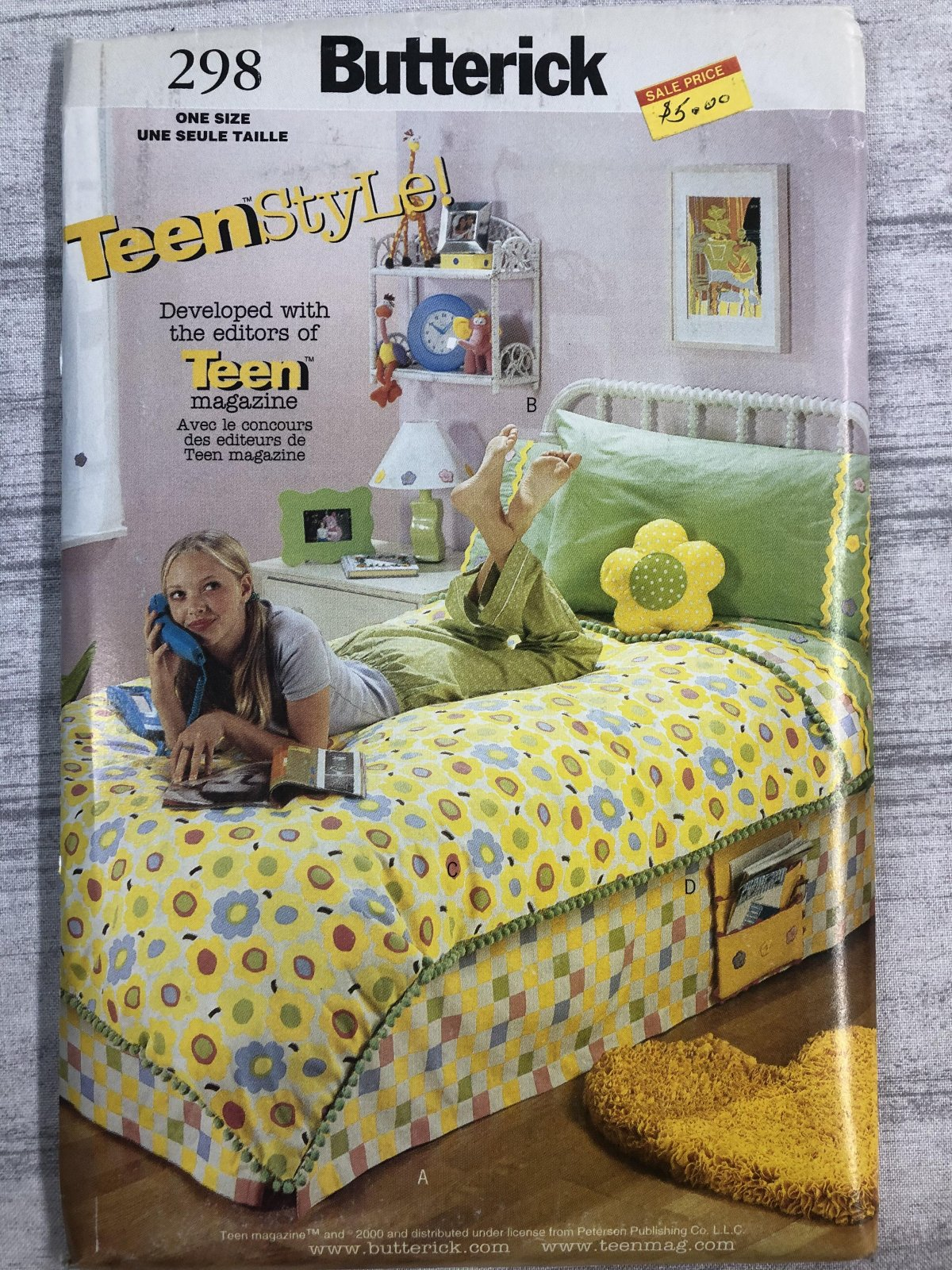 Butterick Teenstyle 0298