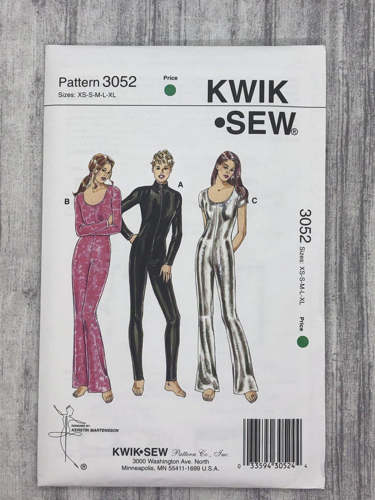Kwik Sew 3052 Sizes XS-XL