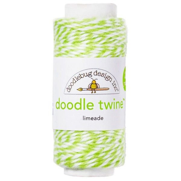 Doodle Twine Cording Limeade 100%Cotton