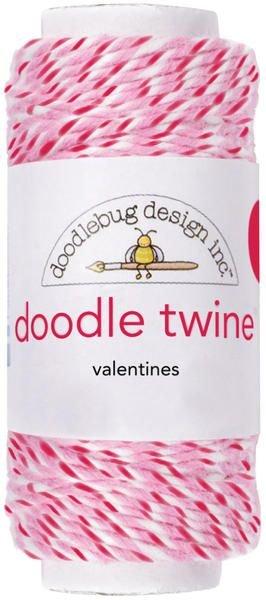 Doodle Twine Cording Valentines 100%Cotton
