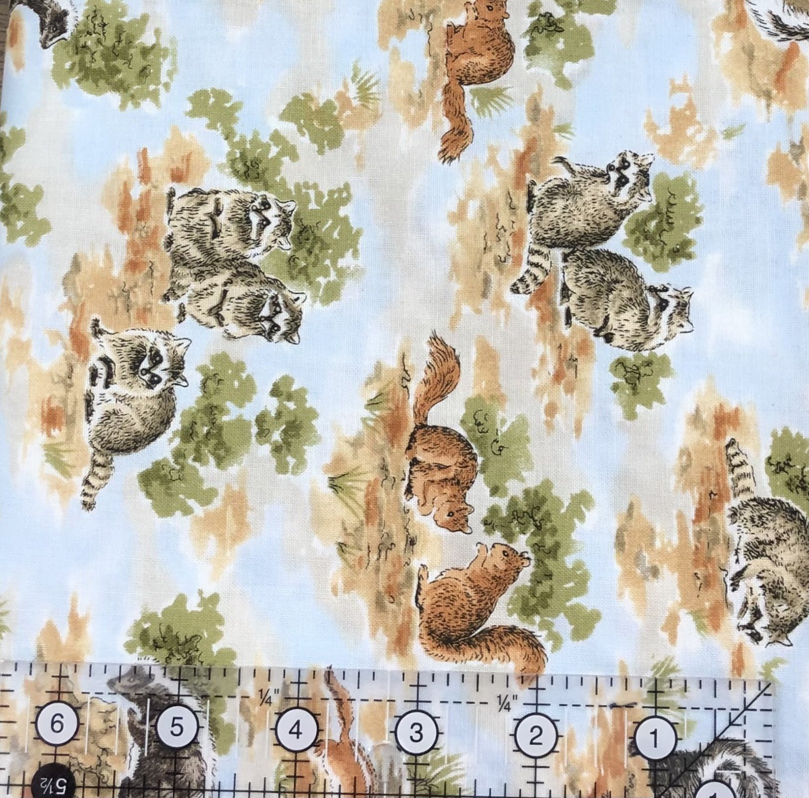 1 Meter Clearance David's Textiles Wildlife designed by Beth Ann Bruske