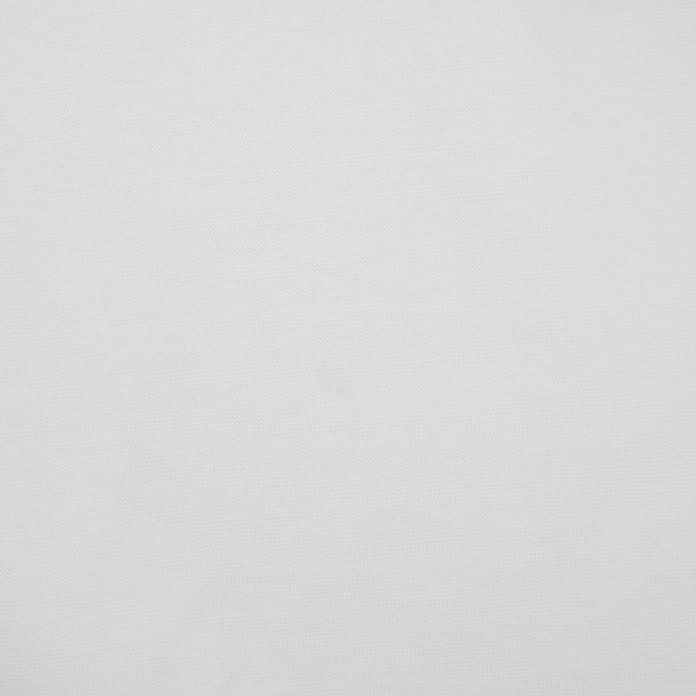Siltex White Rib Knit 132cm 48/48/4 P/C SPDX
