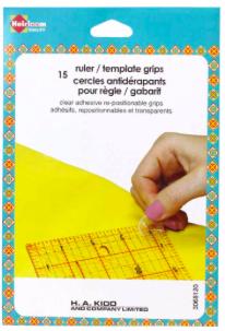 HEIRLOOM Ruler / Template Grips - 15 pcs.