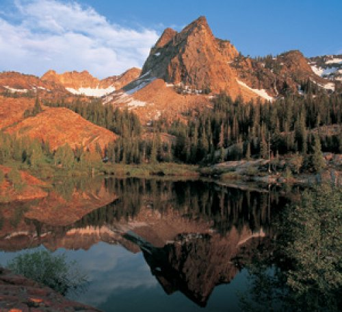 Lake Blanche Reflection