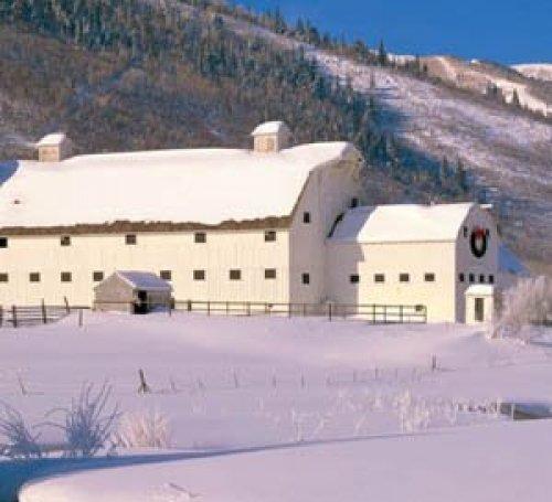 Park City Barn, Winter