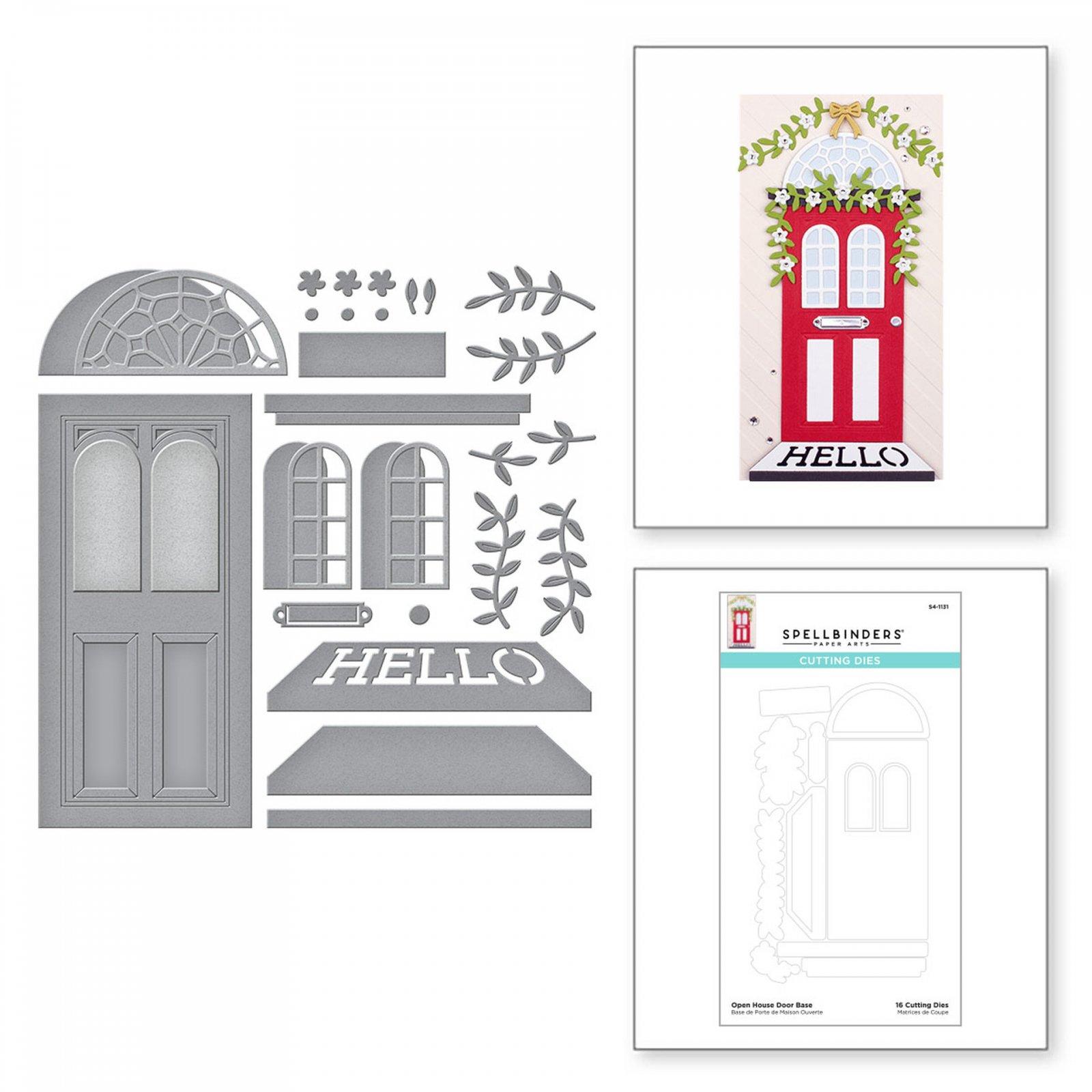 Spellbinders Open House Door BUNDLE