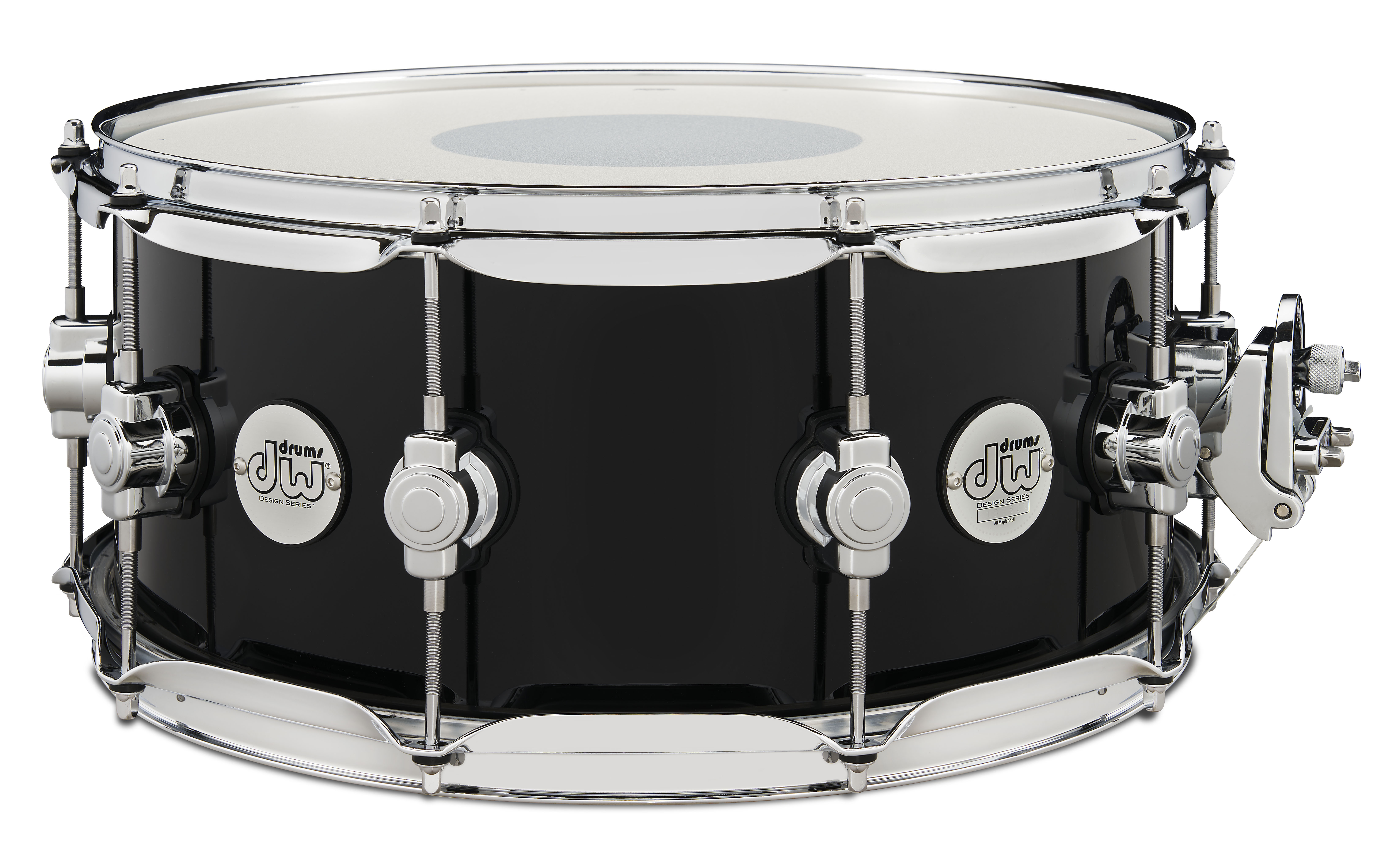 DW Design Series Piano Black Limited Edition Snare Drum