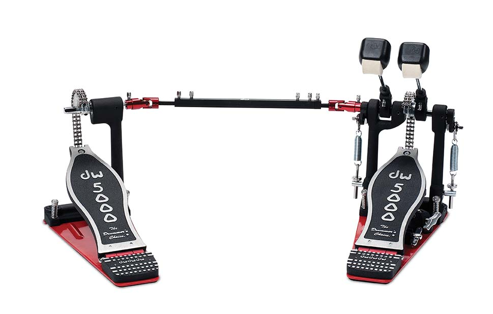 DW 5000 Series Accelerator Double Bass Drum Pedal w/ Bag