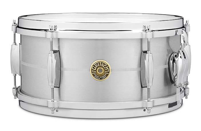 Gretsch USA Custom 6x13 Solid Aluminum Snare Drum