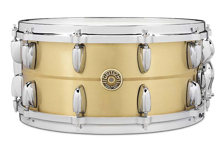 Gretsch 6.5X14 Bell Brass Snare Drum