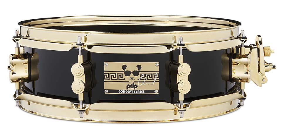 PDP Eric Hernandez Signature Snare Drum 4x13 with Gold Hardware