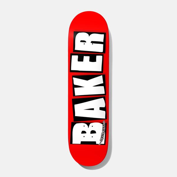 Baker Logo Skateboard Deck White
