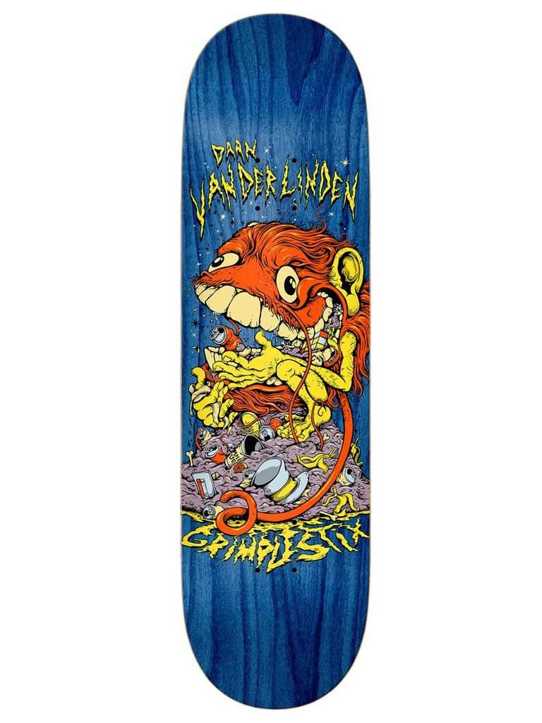 Anti Hero Daan Grimple Stix Guest Skateboard Deck 8.06