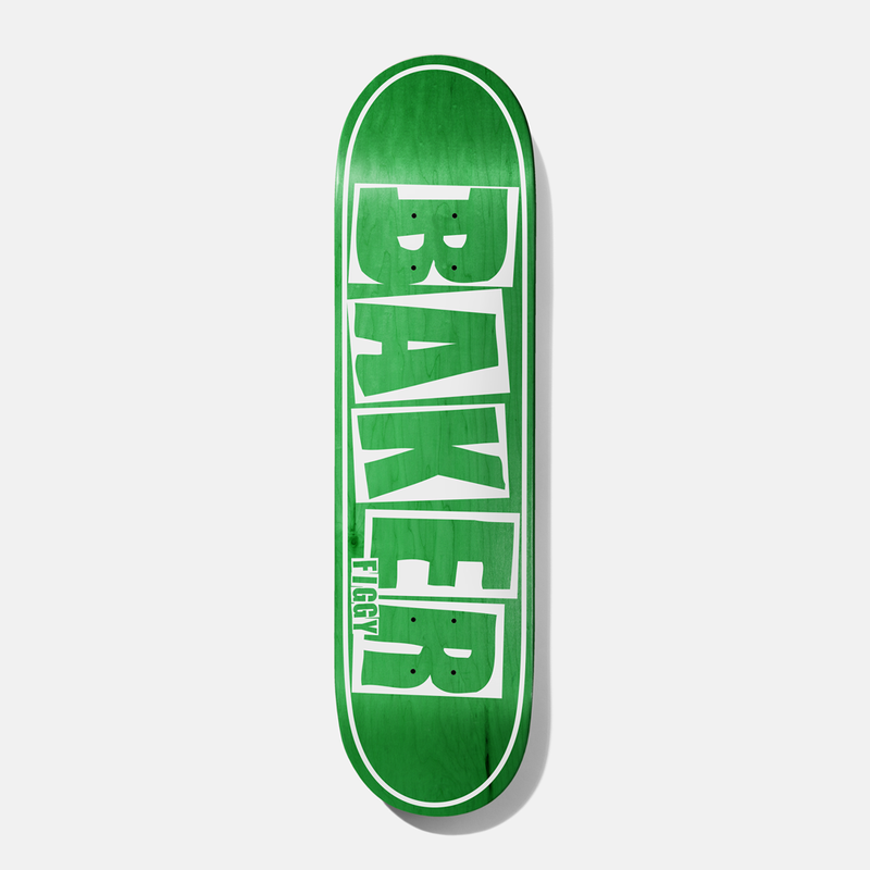 Baker Figgy Brand Name Green Veneer Deck 8.25