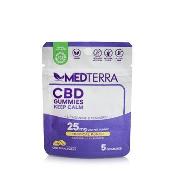 MedTerra CBD Gummies - Keep Calm 5 Pack
