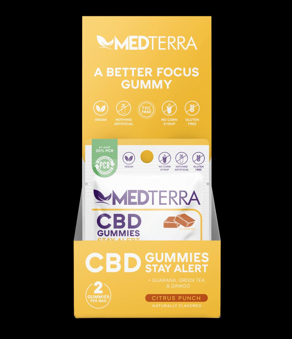 Medterra CBD Gummies -Stay Alert 5 Pack