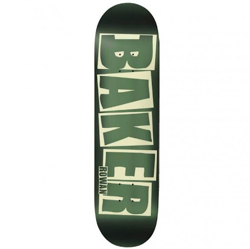 Baker Rowen Brand Logo Green Foil Deck