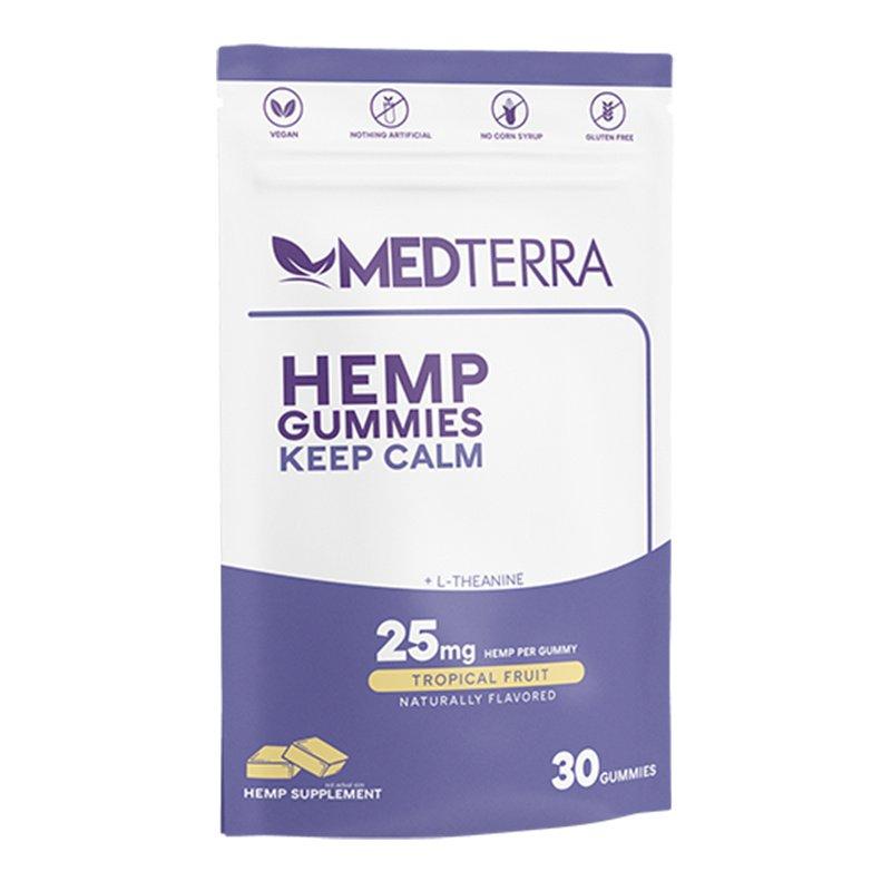 MedTerra CBD Gummies - Keep Calm Tropical 30 Pack