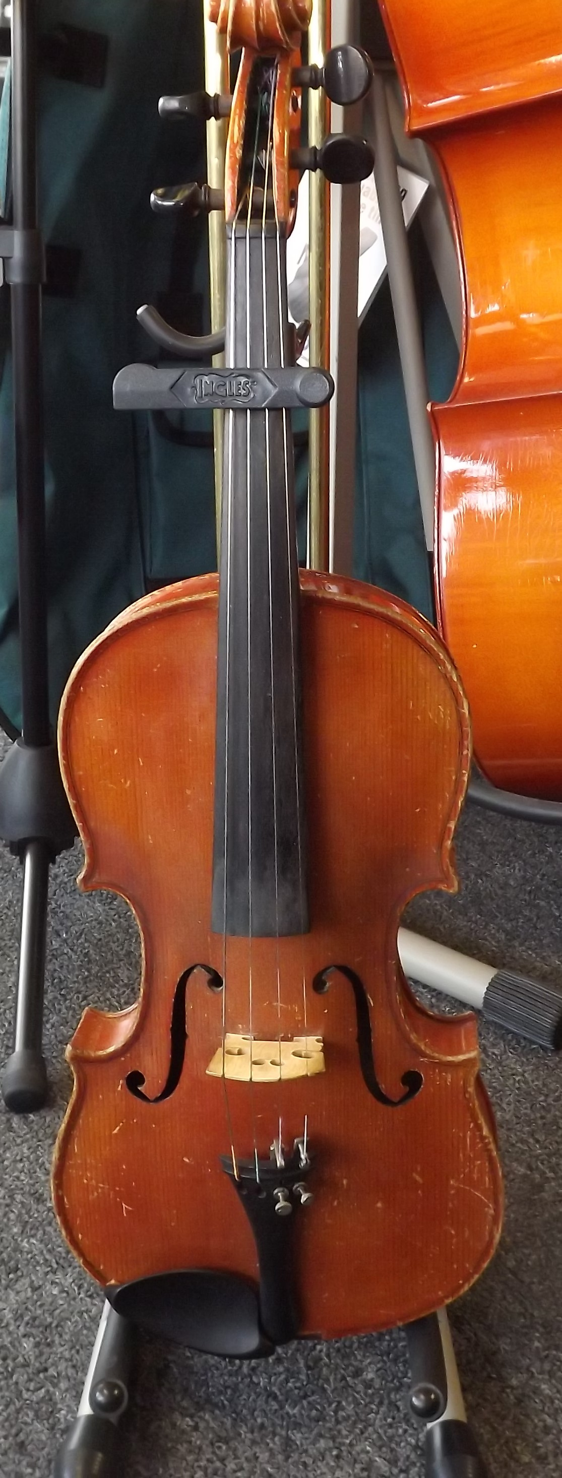 Antonius Stradavarius Cremonenlis 1924 4/4 Violin Made in Germany with Case