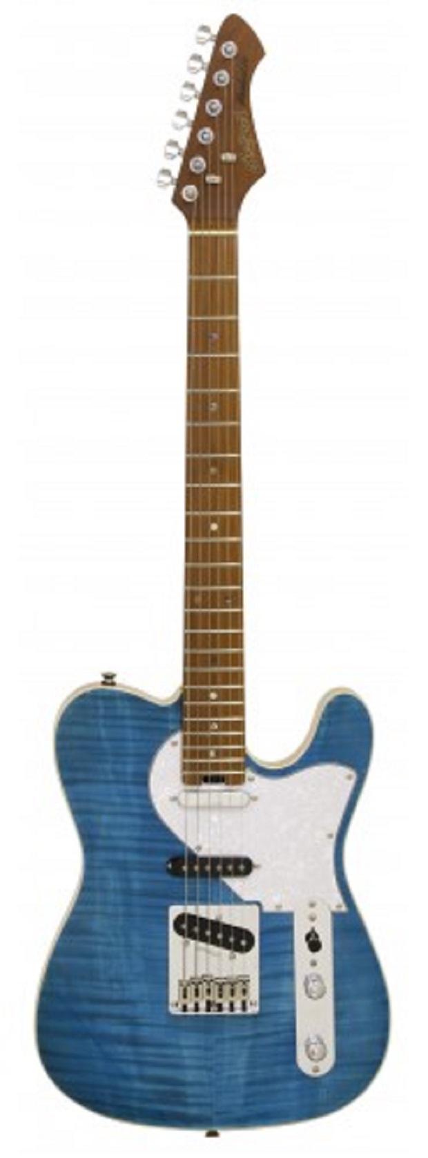 Aria 615MKII-TQBL Nashville Turquoise Blue Electric Guitar