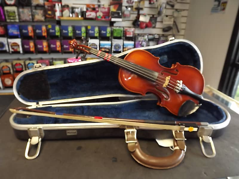 Meisel 1/8 Violin West Germany Outfit