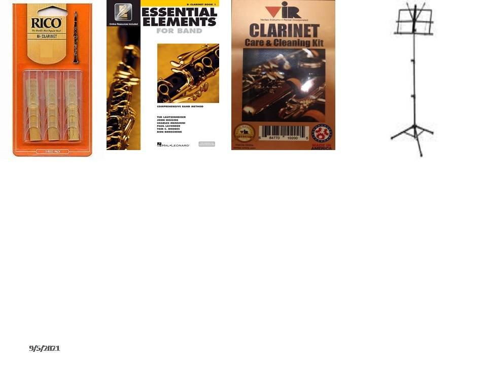 Bb Clarinet Essential Elements Acc. School Pkg #1