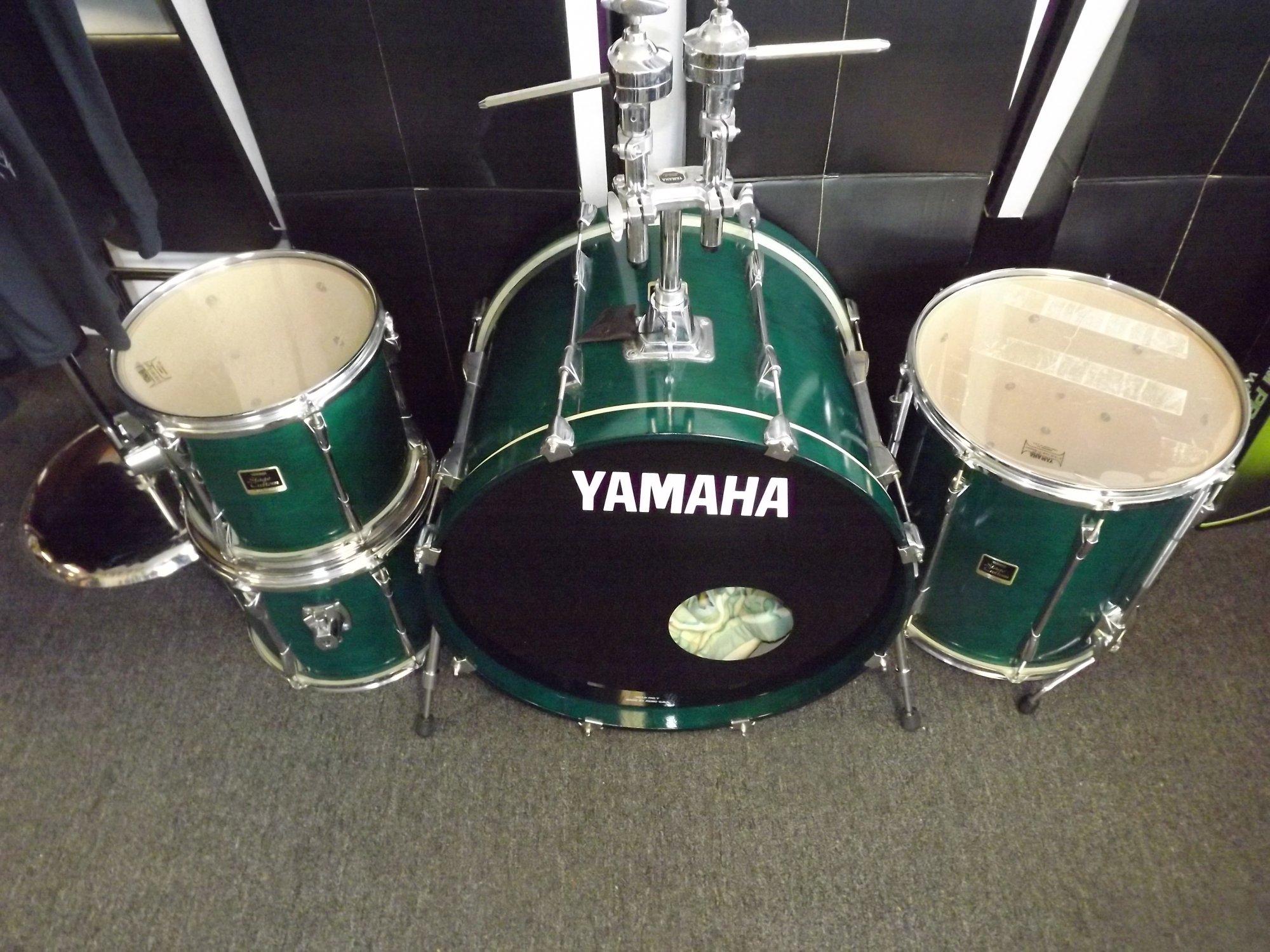 Yamaha Stage Custom 4PC Drum Set 12 13 16 22