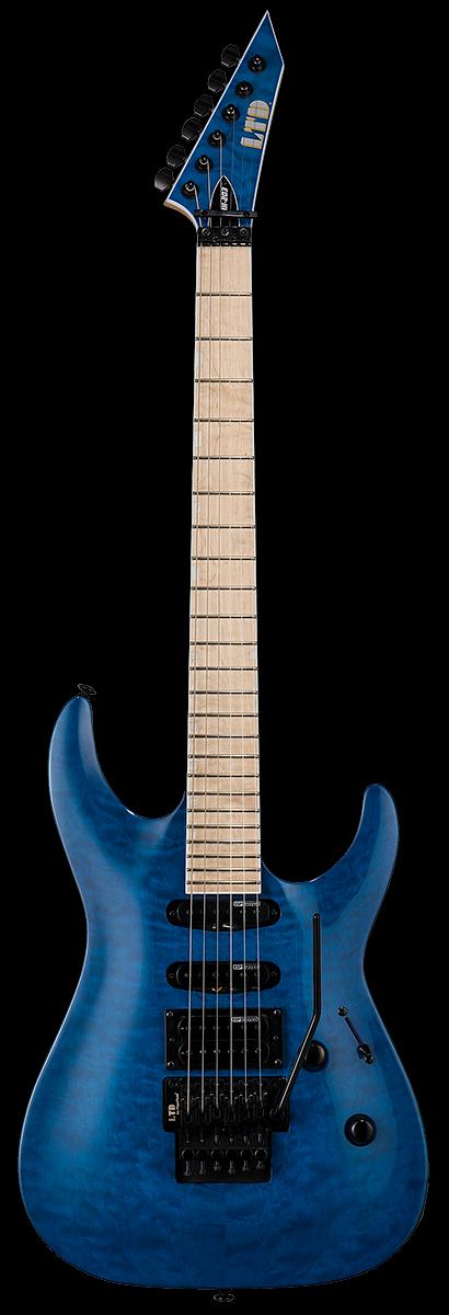 ESP LTD Electric Guitar See Thru Blue