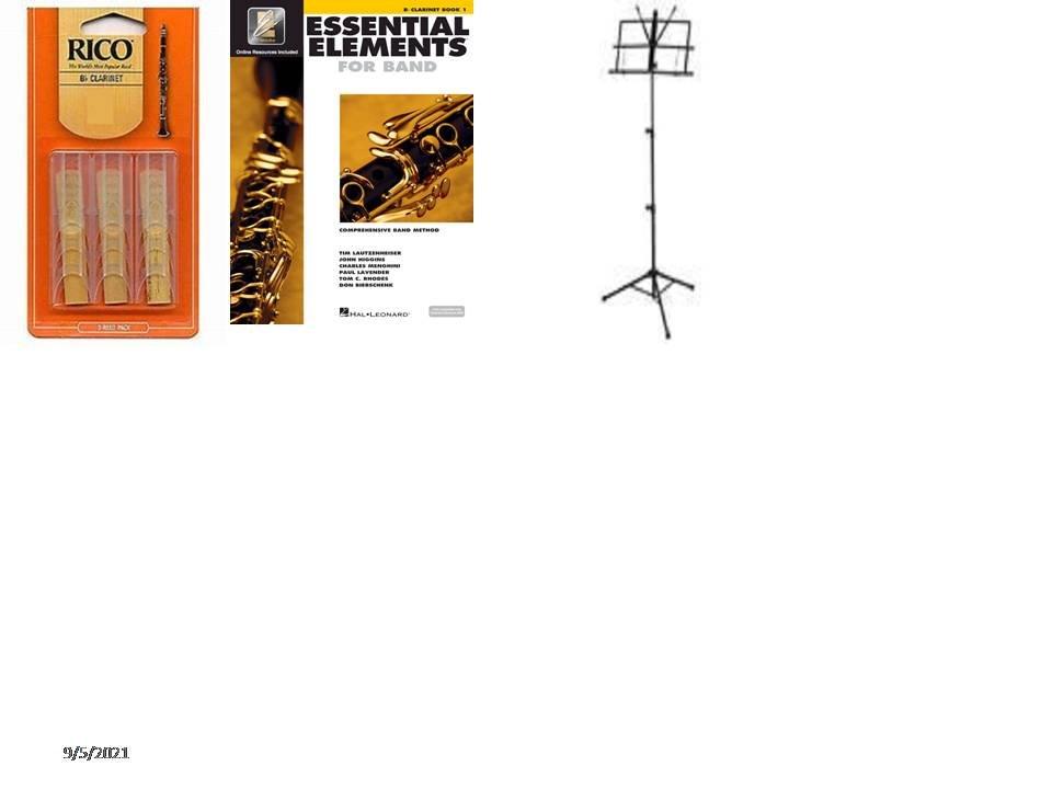 Bb Clarinet Essential Elements Acc. School Pkg #2